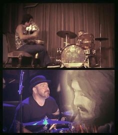 John Henry Bonham and son Jason Bonham