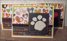 Altered Scrapbooking: Dog Cards