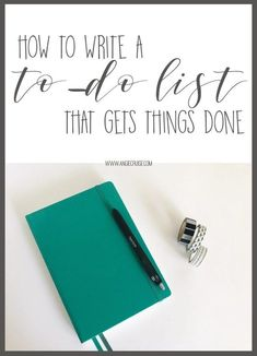 Is your to-do list not getting things done? Learn my top tips for writing a better to-do list right here! Organized Mom, Getting Organized, Organized Planner, Planner Organization, Self Development, Personal Development, Improve Yourself, Make It Yourself, Planner Tips