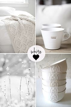 The love of white