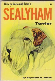 Sealyham Terrier, Thing 1, Book Quotes, Train, Reading, Books, Vintage, Livros, Libros