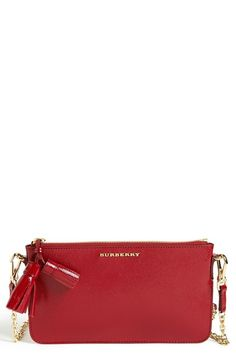 d8071584fcbb Burberry  Peyton  Crossbody Bag available at  Nordstrom Red Crossbody Bag