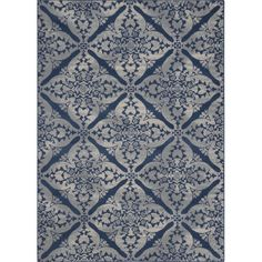 Features:  -Tufted.  -Backing is made of polypropylene.  -A rug pad is recommended to use for the area rug.  Primary Color: -Blue.  Material: -Synthetic.  Product Type: -Area Rug.  Material Details: -
