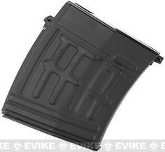 Spare 60rd Magazine for AK SVD Airsoft Sniper Rifles by A&K CA King Arms Matrix SVD II, Accessories & Parts, Airsoft Gun Magazines, Sniper Rifle Magazine - Evike.com Airsoft Superstore