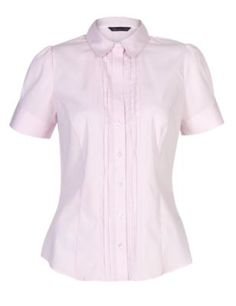 cc49e1c42107f5 Tie-Blouse in Cream by The Seamstress of Bloomsbury