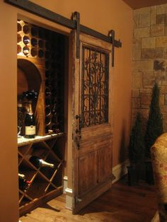Modern Mediterranean Decor With Combination Color – Van.- Modern Mediterranean Decor With Combination Color – Vanchitecture Modern Mediterranean Decor With Combination Color - Decor, Wine Closet, Tuscan House, Home Wine Cellars, House Interior, Mediterranean Homes, Tuscan Decorating, Mediterranean Decor, Home Builders