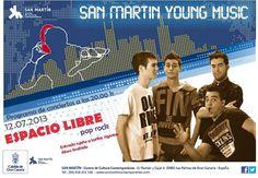 Noche y Día Gran Canaria: Música en Vivo - 12/07: 'Espacio Libre' en C.C.C. San Martín