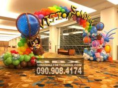 Cổng chào trang trí sự kiện nhiều màu sắc CCCV018