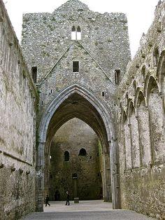 The Rock of Cashel Ireland. more info  http://en.wikipedia.org/wiki/Rock_of_cashel
