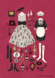 New Drawing Clothes Inspiration Art 30 Ideas Source by ideas drawing Vintage Fashion Sketches, Fashion Design Drawings, Drawing Fashion, Fashion Art, Trendy Fashion, Fashion Kids, Fashion Clothes, Kleidung Design, Estilo Lolita