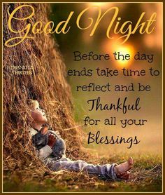 Goodnight Be Thankful For Your Blessings goodnight good night goodnight quotes goodnight quote goodnite Good Night Thoughts, Good Night Friends, Good Night Wishes, Night Love, Good Night Sweet Dreams, Good Night Image, Good Morning Good Night, Day For Night, Good Night Prayer Quotes
