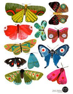 Top trending creature for 2016: butterflies! Artwork: Anisa Makhoul