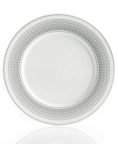 Hotel Collection Dinnerware, Bone China Graphite Accent Plate - Fine China - Dining & Entertaining - Macy's Bridal and Wedding Registry