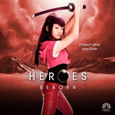 HEROES REBORN Character Motion Posters — GeekTyrant