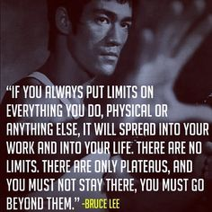 Whether or not Bruce Lee actually said this is irrelevant; the words have meaning.