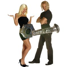 Nut and Bolt Couple Costume, Group Halloween Costumes, Couples Halloween Costumes and Family Halloween Costumes