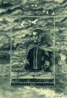 Legolas dreaming of the sea by Meisiluosi.deviantart.com on @deviantART