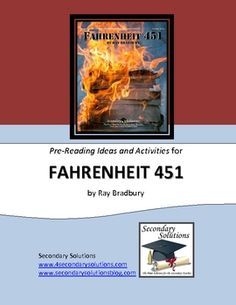 Pre-Reading Ideas and Activities for introducing Fahrenheit 451 by Ray Bradbury. Includes a handout with the Elements of Fiction, Biography on Ray Bradbury with corresponding questions, handout on the History of Book Burning as a Form of Censorship, handout on The Most Frequently Banned or Challenged Books of the 20th Century, an Anticipation/Reaction Activity, and a list of 16 Pre-Reading journal prompts. $4.99