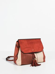 Paille Backpack, Brick