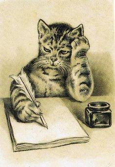 feline writer's block