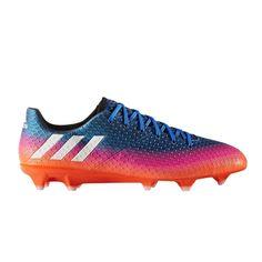 f96ecde2 Chaussures Football Adidas Messi 16.1 Fg Bleu/rose/orange - Taille : 42 2/3