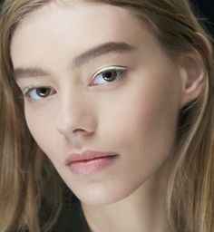 Makijaż na pokazie Dior wiosna-lato 2015, fot.Thibaut de Saint Chamas for Christian Dior Parfums