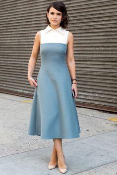 Streetstyle на Неделе моды в Нью-Йорке. Часть 4