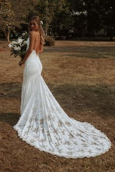 Grace Loves Lace Clo Gown with Ivory Lining Cute Wedding Dress, Rustic Wedding Dresses, Wedding Dress Trends, Wedding Dress Sleeves, Long Sleeve Wedding, Best Wedding Dresses, Bridal Dresses, Bridesmaid Dresses, Gown Wedding