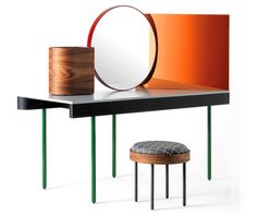Nipa Doshi and Jonathan Levien dressingtable Chandlo