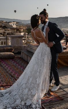 The MEGAN gown in Cappadocia, Turkey | Grace Loves Lace