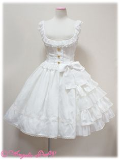 Rose Dress Up JSK-would be lovely paired with a pastel yellow blouse