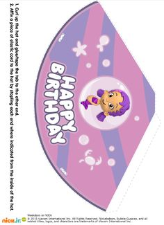 http://www.nickelodeonparents.com/bubble-guppies-party-hats/
