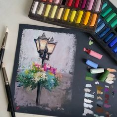59 ideas beautiful art drawings inspiration artworks chalk pastels for 2019 Chalk Pastel Art, Soft Pastel Art, Chalk Pastels, Chalk Art, Oil Pastels, Pinturas Color Pastel, Art Techniques, Watercolor Techniques, Diy Art