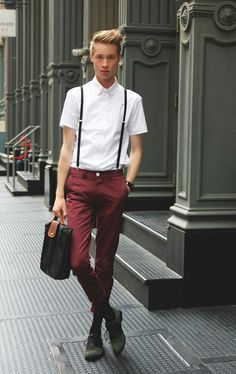 That line between casual and business casual when your style is this good.