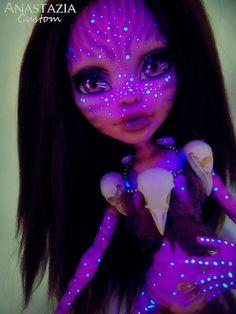 Made to order Monster High Gooliope Avatar 47cm by AnastaziaCustom