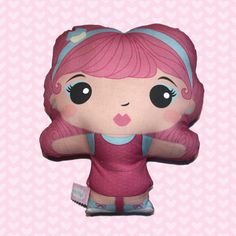 Fifi Plush Doll Large www.OhFifi.etsy.com