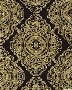 Metallic Lace - Royal Openwork Medallions - Quilt Fabrics from www.eQuilter.com
