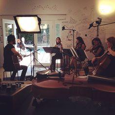Jared practicing with the Quartet #VyRTtheMARSLab