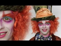 Mad Hatter Makeup ✧ Wonderland Series ✧ Courtney Little - YouTube