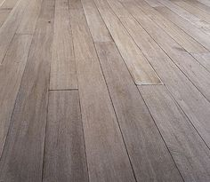 bleached oak floors with a grey wash.....