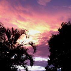 Sunset on valentines day