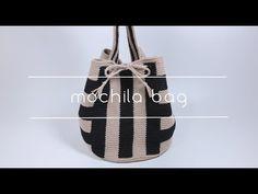 [코바늘] 모칠라백 Crochet Mochila bag / Handmade by Sunny Mochila Crochet, Tapestry Crochet Patterns, Crochet Handbags, Crochet Bags, Crochet Videos, Knitted Bags, Blouse Patterns, Fashion Bags, Bucket Bag