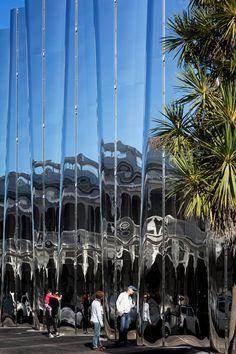 Pattersons' Len Lye Museum has a shimmering facade