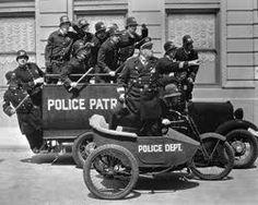 Keystone Cops Classic Pose in Police Patrol Cars & Bike 1920 Poster Police Patrol, Police Cars, Police Vehicles, Keystone Cops, Ww2 History, Silent Film, Classic Movies, Old Hollywood, Movies