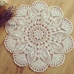 #вязаниекрючком#салфеткакрючком#napkin#instacrochet#crochet#handmade#декор#decor#doily#купитьСалфетку