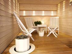 Slow Sauna & Spa and Inspiring Interior Sauna Design, Saunas, Home Spa, Interior Inspiration, Chair, Bathrooms, Home Decor, Ideas, Decoration Home