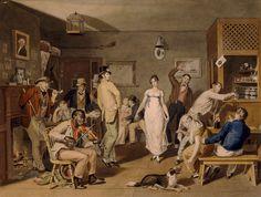 Barroom Dancing by John Lewis Krimme