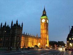 Elizabeth Tower (Big Ben) paikassa City of Westminster, Greater London