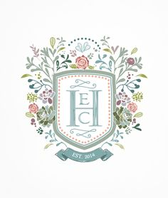 Custom Heraldry Wedding Invite