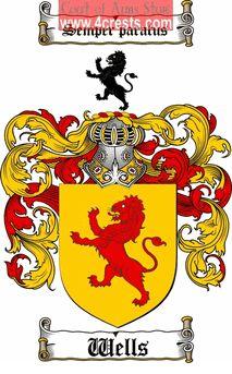 McCracken Family Crest or McCracken Coat of Arms